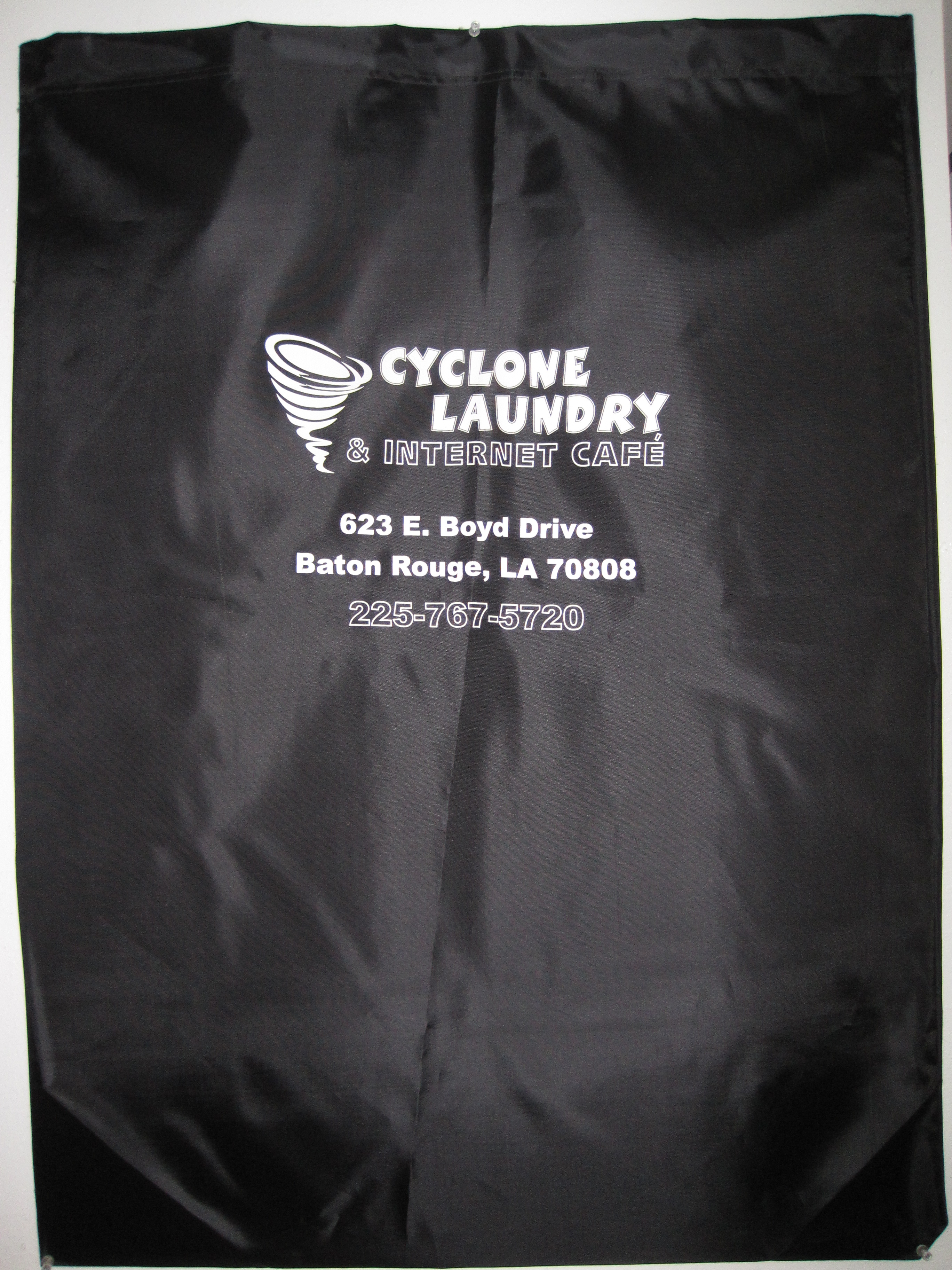 Large Logo Laundry Bag