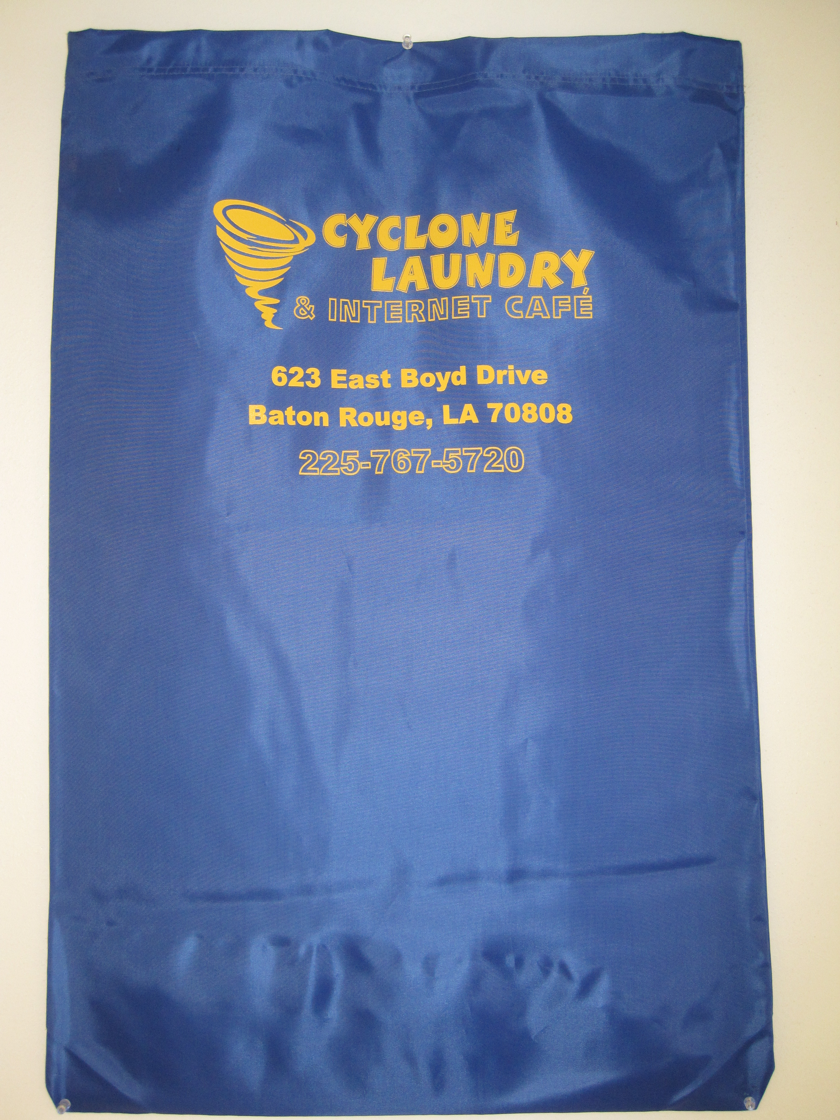 Medium Logo Laundry Bag